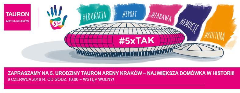 5. Urodziny TAURON Areny Kraków – TAURON Arena Kraków